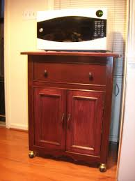 Microwave Furniture Cabinet Hand Made Microwave Cabinet By D N Yager Woodworks Custommadecom
