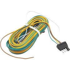 trailer wire harness 25 feet 4 way flat plug walmart com