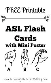 Printable bathroom sign Genderless Asl For Bathroom Sign For Bathroom Free Printable Sign Language Alphabet Flash Cards Plus Bonus Mini Shutterstock Asl For Bathroom Sign For Bathroom Free Printable Sign Language
