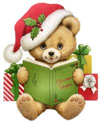 Image result for free christmas clip art with books and librarians
