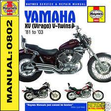virago 535 diagram yamaha xv535 xv750 xv1000 xv1100 virago haynes manual