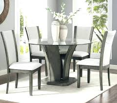 glass dining room table set dining table set 5 piece studio kangas 5 piece glass top