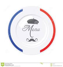 french menu template french restaurant menu design template stock vector illustration