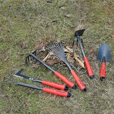 Cultivator FLORA GUARD <b>6 Piece Garden</b> Tool Sets Weeder ...