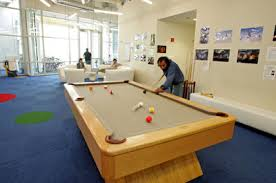 google office amenities. and snooker has its own thing going on google office amenities