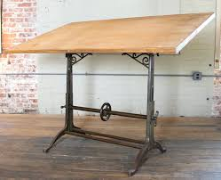 artistic drafting table plans of wood drafting table with