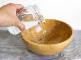 picture of vinegar bath