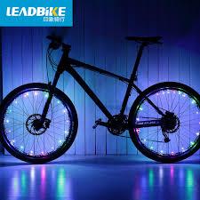 Leadbike <b>Bicycle Lights</b> 20 LED <b>Colorful</b> Bike Wheel Light USB ...