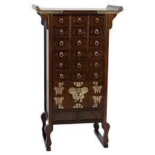 Oriental Furniture Korean Style 18 Drawer Herbal Medicine Apothecary Chest  | Hayneedle