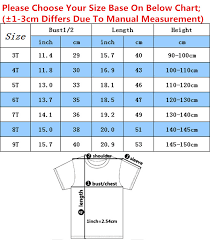 Child T Shirt Size Chart By Age Us 4 73 37 Off Children Russian Cartoon Print The Fixies Funny T Shirt Kids Summer Clothes Casual Tops Baby Tees For Boys Girls Hkp5148 In T Shirts
