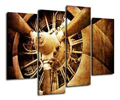 sunfrower canvas prints wall art vintage aircraft old retro style airplane propeller sepia toned close on horizontal wall art amazon with amazon sunfrower canvas prints wall art vintage aircraft old