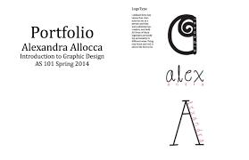 Graphic Designer Brief Introduction Introduction To Graphic Design Portfolio Alexandra Allocca