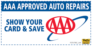 aaa approved auto repairs show card save