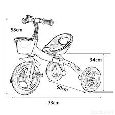 Tricicli 3 Ruote Bici Bambino Bicicletta Bambino Giocattolo Per