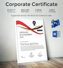Corporate Certificate Template Template Corporate Certificate Template Corporate Certificate Template 3