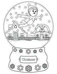 Elf Coloring Pictures Vudfiullinfo