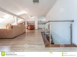 bright space living room upstairs stock image image 35435057