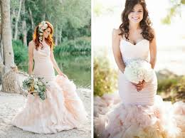20 pink blush wedding dresses southbound bride