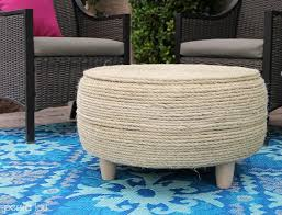 diy recycled tire coffee table turn an old tire into