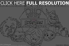 Small Picture Printable Angry Birds Star Wars Coloring Page Coloring Pages 5115