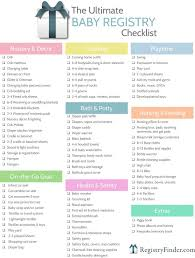 list of items needed for baby ultimate baby registry checklist baby registry checklist baby