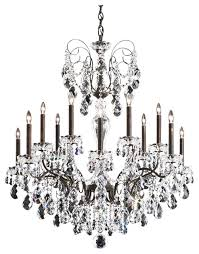 schonbek sonatina 14 light 35 black pearl chandelier ceiling