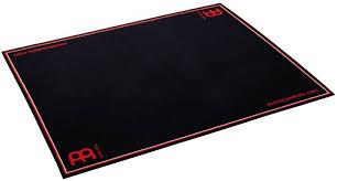 meinl mdr bk drum rug with red logo