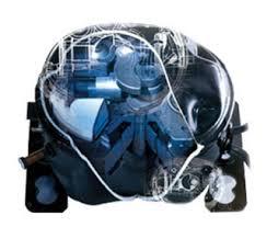 refrigerator compressor. compact but high powered refrigerator compressor