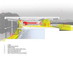 lehrer architects office design. Unite Here Health LA Office,Section Lehrer Architects Office Design