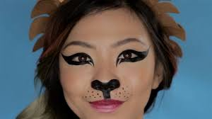 snapchat lion filter super cute makeup tutorial