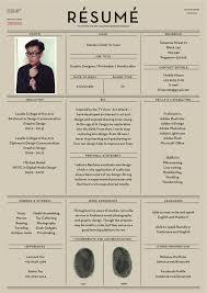 Resume design inspiration