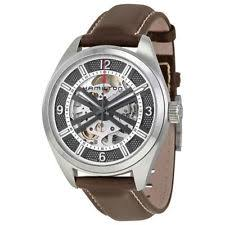 mens automatic skeleton watches hamilton khaki field skeleton automatic men s watch h72515585 bnib over 50% off