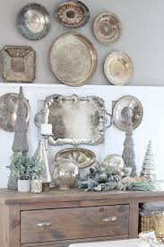 Decorating With Silver Trays Silver Trays Silver trays Trays and Vintage silver 1