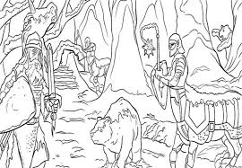 the chronicles of narnia magicians nephew kingdom coloring page