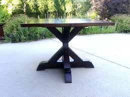 diy round table base round dining table base as well as x base pedestal table white