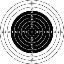 Rifle Shooting Targets Printable Air Rifle Target Clip Art