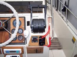 montauk 17 console wood trim gauge layout continuouswave image
