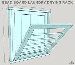 diy ballard designs laundry drying rack