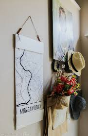 learn how to make a modern white diy poster frame for