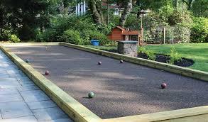backyard bocce ball court pittsburgh