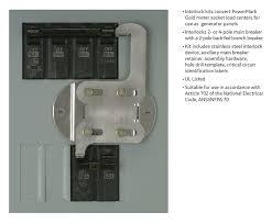 ge powermark gold load center generator interlock kit thqllx1 Fuse Box Home Depot Fuse Box Home Depot #42 fuse box cover home depot