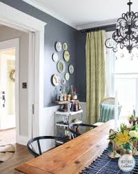 Dining Room Side Table Decor Home Decorating  Painting Advice - Dining room paint colors 2014