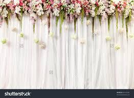 Wedding Flowers Decoration Beautiful Flower Wedding Decoration Stock Photo 93119320