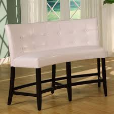 counter height banquette. Contemporary Banquette Bossa Counter Height Banquette  White Leatherette To B