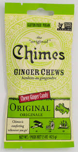 Chimes Ginger <b>Chews</b>, <b>Original</b>, 1.5 Ounce (Pack of 12)