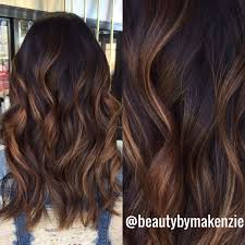 Balayage Caramel Highlights