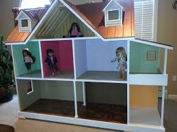 building doll furniture. custom built american girl 18 inch doll house one of a kind building furniture c