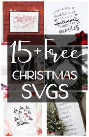 These files are compatible with Free Christmas Svg Cut Files The Girl Creative