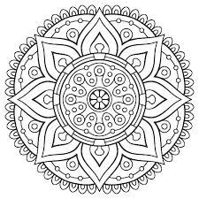 Mandala Coloring Pages Free Printable Mandalas Adults Easy Animal