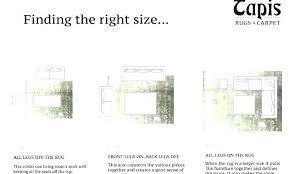 Living Room Rug Sizes Chart Large Area Rug Sizes Bloguerosa Com